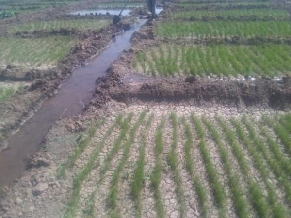 Surface on-farm irrigation-Labour intesive and inefficient